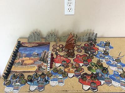Heroscape Large Lot Rise of the Valkyrie figures cards dice markers more....