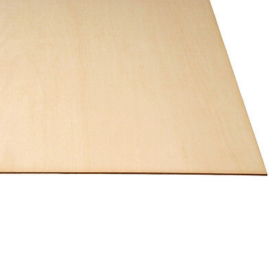 """1/8 X 12 X 24"""" Baltic Birch Plywood Great for Laser, Scroll Saw 20pc Craft Wood"""
