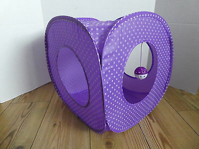 Cat Kitten Pop Up Play Cube Tent