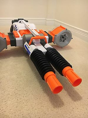 Nerf Gun Rhino Elite 50 Rounds, Battery Powered, Fully Automatic