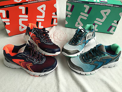 Fila Womans Ladies Fitnes Running Shoes Fila Cool Max Brand New In Box 2 Colors
