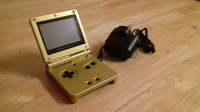 The Legend of Zelda GOLD GBA SP Gameboy Advance SP Console