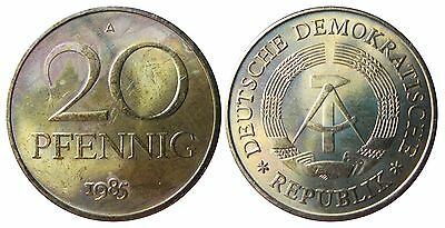 1511 20 Pfennig DDR 1984 A in STG  1502160