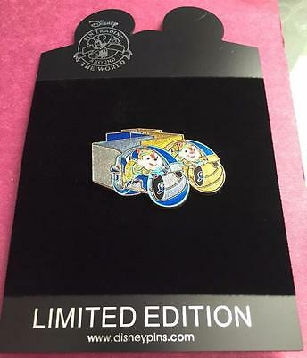 Disneystore TRON Character Series Chip and Dale Light Cycle LE 250 Disney Pin