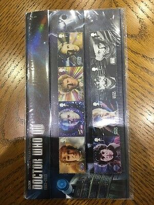 2013 Doctor Who Stamps in Presentation pack 482 with Miniature Stamp Sheet