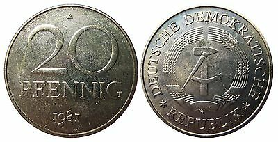 1511 20 Pfennig DDR 1981 A in EXPORT  474054
