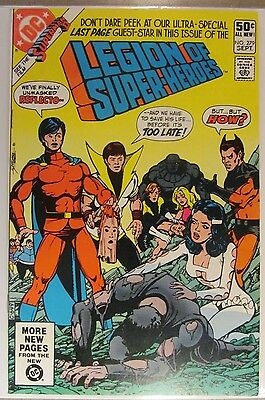279 1981 LEGION OF SUPER-HEROES COMIC - Fine+ to VF- SUPERBOY ( SUPERMAN )