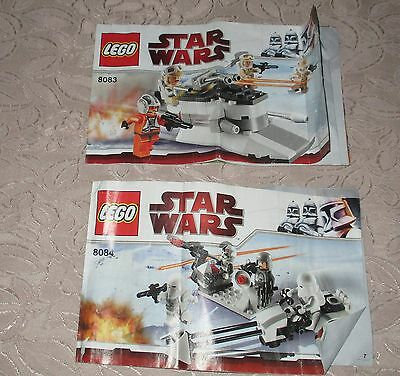 Lego 8083, 8084 Star Wars instructions only