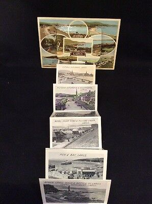 Vintage Largs Advertising Scottish Novelty Pop Out Picture Postcard 1959