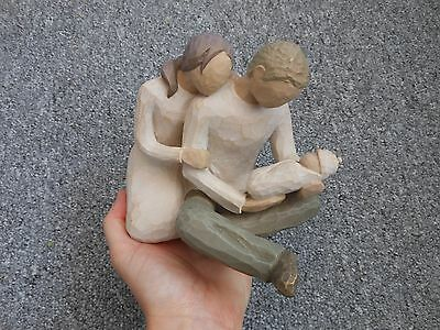 Willow Tree Susan Lordi figure couple with baby called new life 2000