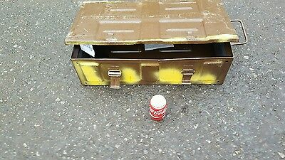 AMMO  BOXES, ARMY/MILITARY  LARGE (V/STRONG)AND CLEAN.! ideal 4x4 expedition.