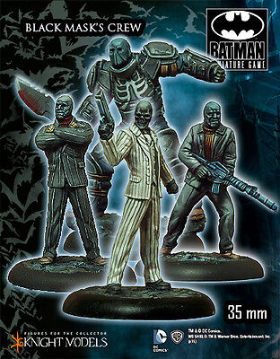 Knight Models Batman Miniature Game- Black Mask Crew, Arkham Origins  K35Bao007