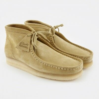 Clarks ORIGINALS Boots Wallabee Mapple Suede Lace Up G Width Fitting