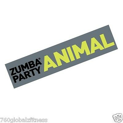 Zumba Bumper Sticker- Put on your car, laptop, fridge, anywhere!  Free Shipping!