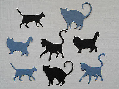 Cat Paper Die Cuts x 2 Sets Scrapbooking Card Topper Embellishment