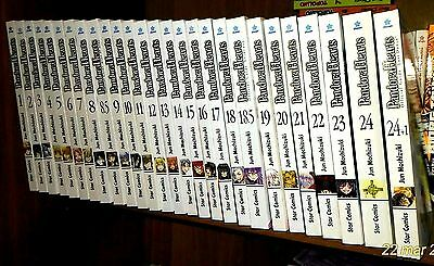 PANDORA HEARTS completa 1-24 + 3 Official Guide
