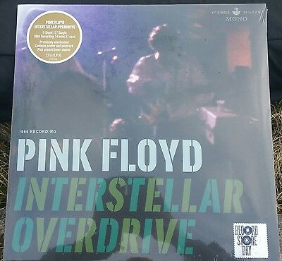 "Pink Floyd 'interstellar Overdrive' *sealed* Rsd 12"" Single +Poster+Card+Inner"