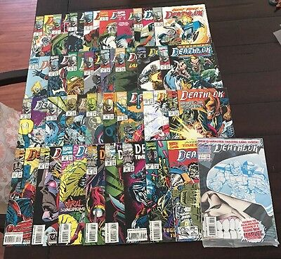 Deathlok Comic Lot of 33 (Marvel)