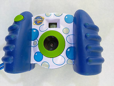 Discovery Kids Digital Camera 2009 Blue Green Bubble TESTED