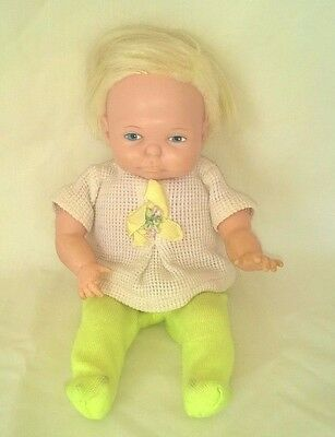 Vintage Ideal Newborn Thumbelina Doll A/o Works Reduced $46.99