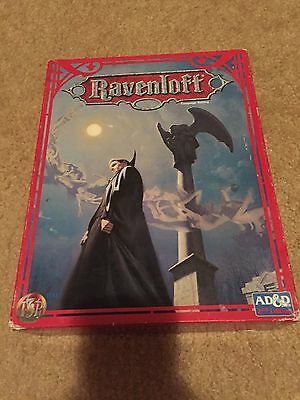 Ravenloft Campaign Setting - AD&D 2nd Ed. Box Set -1108 Great Cond.