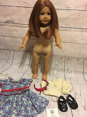 American girl doll Emily retired With Meet Outfit