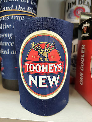 Tooheys New Beer Stubby Can Bottle Cooler Holder Man Cave Xmas Gift