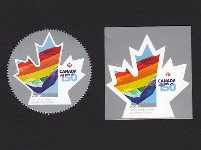 ca. CANADA 150 Great Celebration, MARRIAGE EQUALITY,  bklt & ms stamps, MNH 2017