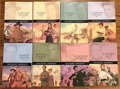 The House of Winslow Gilbert Morris Paperback Book Series Lot of 8 Christian