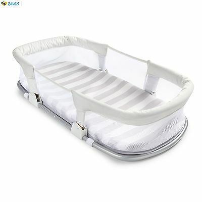 Travel Bed Nursery Basket Baby Infant Cradle Crib Newborn Sleeper Bassinet Mesh