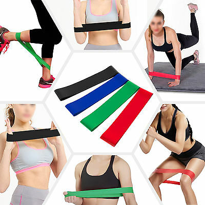 4pcs Resistance Loop Bands Exercise Yoga Bands Rubber Fitness Training Strength