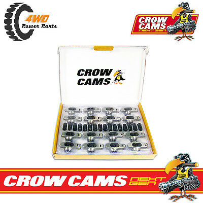 "Crow Cams Stainless Roller Rockers 7/16"" Stud Ford Cleveland 302 351 V8 CRFCL177"