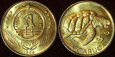 Cape Verde 1994 1 Escudo Uncirculated (KM27)