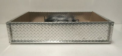 Cargo Box  Ute Tray For Yamaha G29 Drive Golf Cars. Diamond Plate. Aluminium