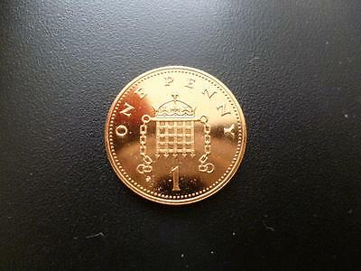 1989 Uncirculated One Pence Piece. 1989 Uncirculated Condition 1P Coin.