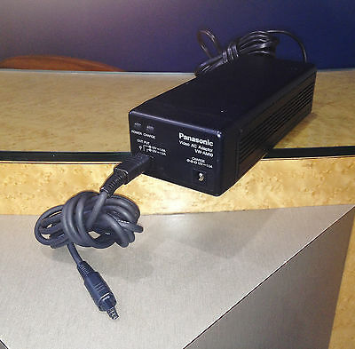 Genuine Panasonic Nv-M10 Video Camera Ac Adaptor Vw-Am10,power Supply 12V 1.5A