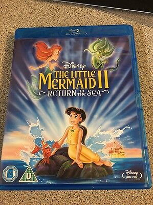 The Little Mermaid 2 Return To The Sea Blu Ray