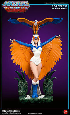 Sorceress Exclusive Masters of the Universe Pop Culture Shock MOTU Filmation