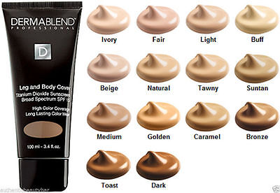 Dermablend Professional GENUINE Leg and Body Cover Foundation 5ml Sample