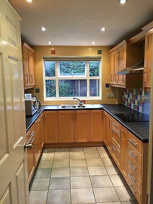 Shaker Style Fitted Kitchen Including Worktops and some built in appliances