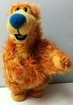 """14"""" SINGING DANCING BEAR FROM BEAR IN THE BIG BLUE HOUSE SINGS CHA CHA CHA Ref:C"""