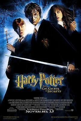 Harry Potter And The Chamber Of Secrets Laminated A4 Mini Movie Poster Print