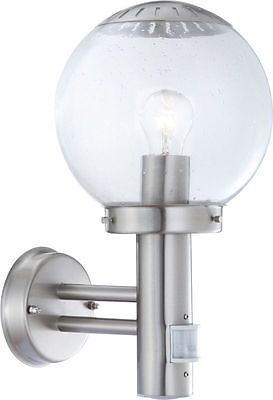 Globo 3180S Exterior Light Outdoor Lamp Wall Lamp With Motion Detector Spotlight