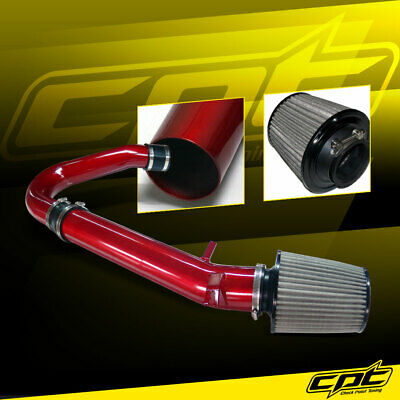 11-16 Dodge Charger/Challenger 3.6L V6 Red Cold Air Intake + Stainless Filter