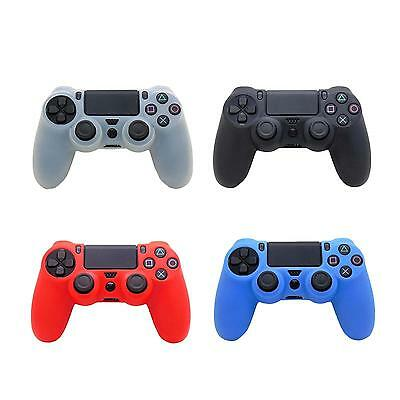 Silicone Rubber Protective Grip Case Cover For Sony Playstation 4 PS4 Controller