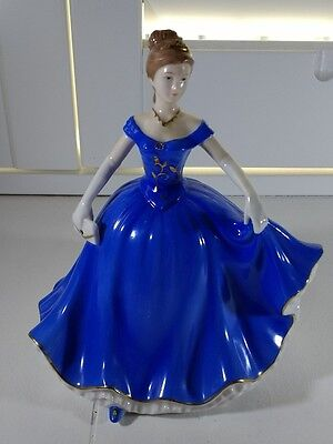 Pretty Retired Leonardo Annie Rowe Collection Lady Figurine