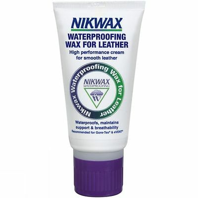 Nikwax Waterproofing Cream Wax For Leather 100ml - Leather Care