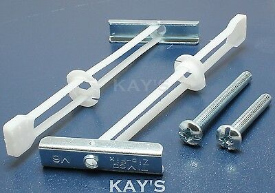 Genuine Zip Fix Plasterboard Hollow Cavity Wall Fixings Toggler Type With Screw