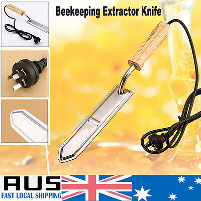 Electric Honey Extractor Uncapping Hot Knife W/ Thermostat Beekeeping Scraping A