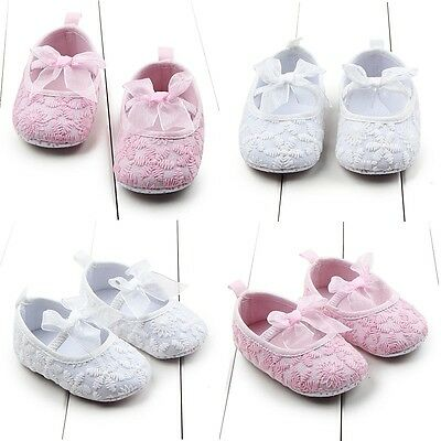 Newborn Infant Baby Girl Soft Sole Crib Shoes Baby Kid Casual Prewalker Canvas